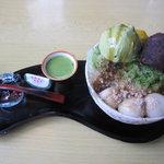 なかまっこ - 抹茶かき氷