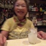 スナック琴子 - 今日は歯も大丈夫・・・。