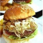 エーエス クラシックス ダイナー - オニオンマッシュルームバーガー1,365円