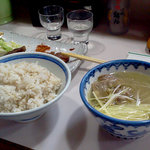 牛舌の店 多津よし - 麦めしとテールスープ