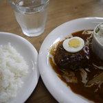 ボヌール - 熊野牛ハンバーグランチ