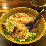 酒人肴 びりけん - イカの煮物のリゾット