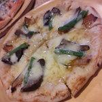 くるみの樹 - 季節のピザ(茄子・隠元・南瓜)