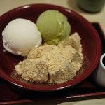 竹よし - きなこわらび餅セット
