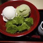 竹よし - 抹茶わらび餅セット