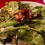 ラ・ベルデ - 食べづらかったほうれん草サラダ
