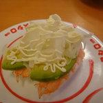 スシロー - 料理写真:2011-08-20えびアボカド105円
