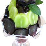 アオイ農園 ぶどうの木 - 3種類の葡萄がたっぷりとのった、『ぶどうのパフェ』¥1,700