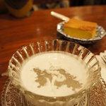 バンタイ - タピオカココナッツミルク☆とろーりと糸を引きます。