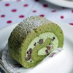 リリエン ベルグ - 抹茶のロールケーキ