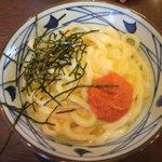 丸亀製麺 - 明太子うどん(並)