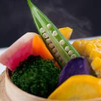 【素材】契約農家直送野菜