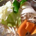 ジンギスカン羊羊亭 - 野菜食べ放題!