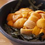 柿崎商店 海鮮工房 - 赤ウニ丼