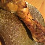 ペスカード - 塩鮭のカマ焼き