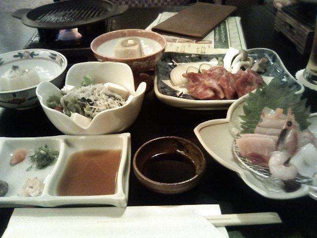 日本料理 あじさい