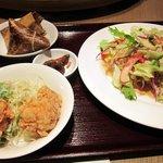 本格中国料理 華中苑 - 冷麺セット830円