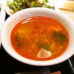 七甲山 渋谷道玄坂店 - ユッケジャンスープ