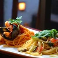 ブーケブラン - 欧風料理を中心にパスタも多数 用意しております。