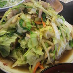 喜味屋食堂 - 野菜炒め定食