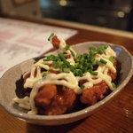 チキン野郎 - オススメ☆唐揚げと甘酢ソースが絶妙にマッチ!マヨとネギも相性いい♪