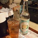 チキン野郎 - マスターおすすめの○茶で割るとすごい美味しい!