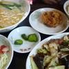 台湾料理 龍香苑 - 料理写真:回鍋肉セット800円