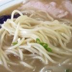 圭順 - 「ラーメン(大)」中細ストレート麺