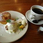 ミズサキノート - Coffeeケーキセット900円