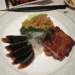 筑紫樓 - 前菜盛り合わせ