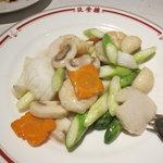 筑紫樓 - 海鮮塩炒め
