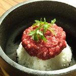 大滝 - 料理写真:国産黒毛和牛(A5)使用の生ハンバーグを石鍋で!!