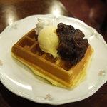 ピノ - よくばりデザートプチワッフル650円