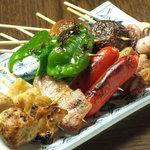 仙台ミルクホール - 人気の串焼きは本格炭火焼き!