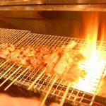 仙台ミルクホール - 本格炭火焼き。