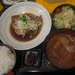蒲田物語 - 赤魚煮定食(680円)