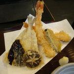 稲にわうどん 割烹 日本橋 古都里 - 天麩羅