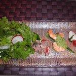 チンギアーレ - 海の幸・山の幸の前菜の盛合せ