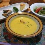 カントリーインミルキーハウス  - 料理写真:前菜とスープ