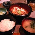 串エ門 - 肉豆腐定食