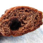 サフラン - チョコベーグルの断面