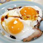 重松飯店 - 料理写真:今治焼豚玉子飯