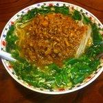 らーめんハウス勘四郎 - 料理写真:ニラ坦々麺 (780円)+大盛 (100円)