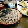 かぎもとや - 料理写真:【もみじセット】¥1,700(ざるそば、天ぷら、けんちん汁)
