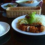 カフェ ノビ - カツランチ(一日限定6食)