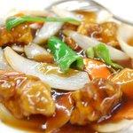 中国料理天山 - 料理写真:酢豚