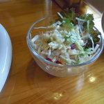 南太平洋 - ランチのサラダ