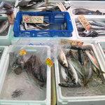 長井水産(株)(直売センター) - 地元で取れた鮮魚