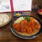 とんかつもりや - とんかつ定食 ご飯大盛り(+50円)
