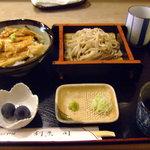 割烹 司 - 穴子丼&せいろ蕎麦